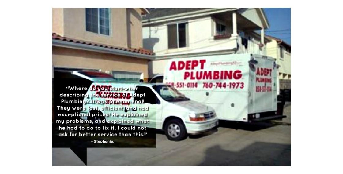 Adept Plumbing Inc